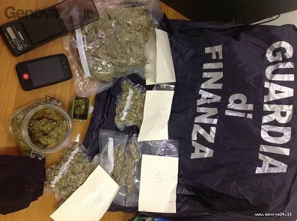 sequestro maijuana chiavari