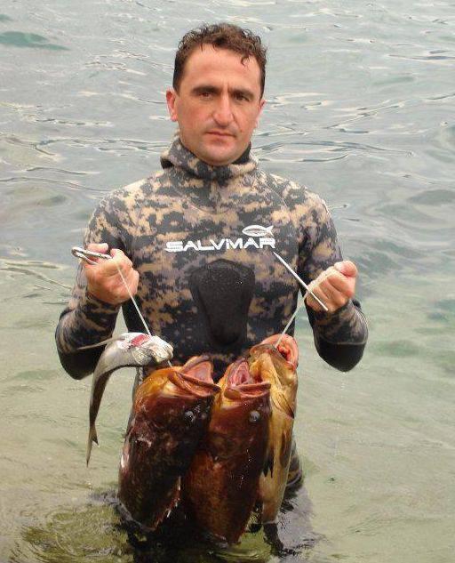 Vittorio Lai pescasub Circolo Pescatori Dilettanti Rapallesi