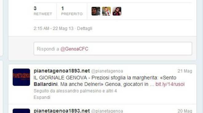 ballardini twitter don gallo genoa