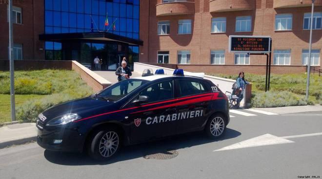 Carabinieri ospedale Albenga