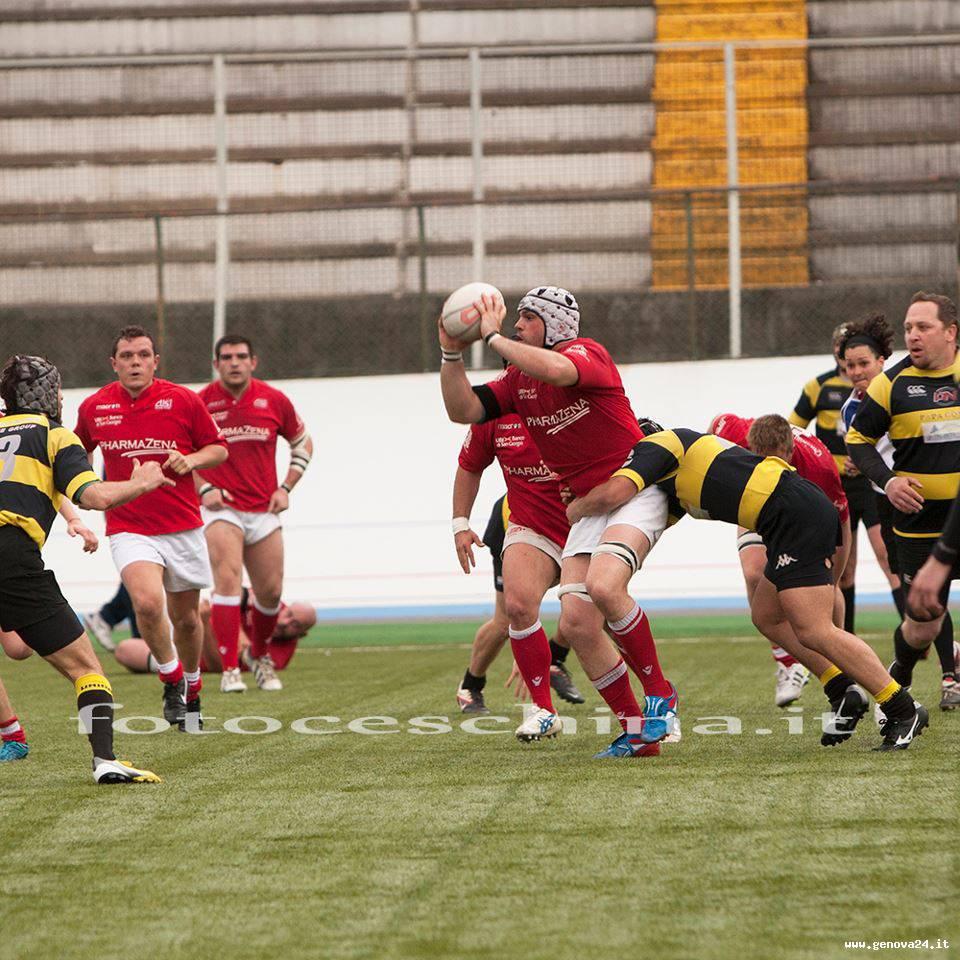 foto ceschina rugby cus genova playoff