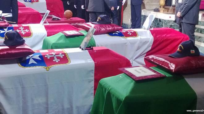 funerali di stato tragedia molo giano