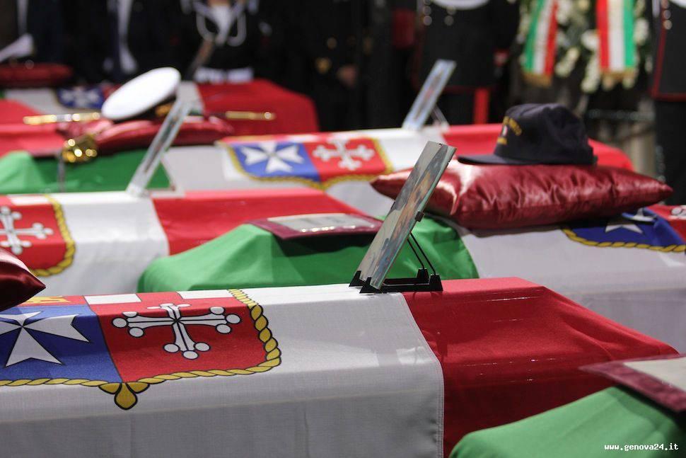 Genova - funerali di Stato per tragedia molo giano