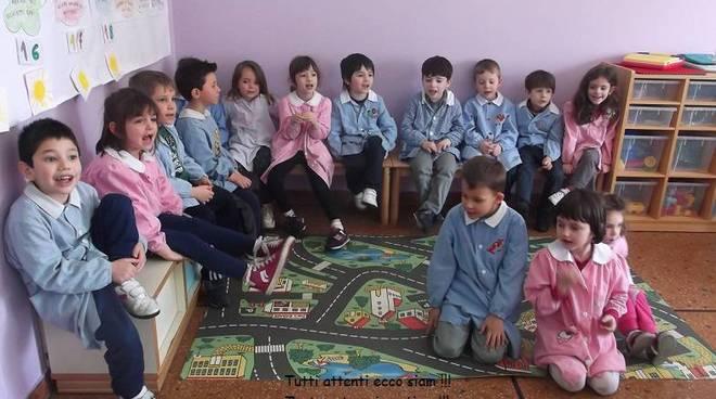 I bambini della scuola dell infanzia di san giorgio a for Scuola materna francese