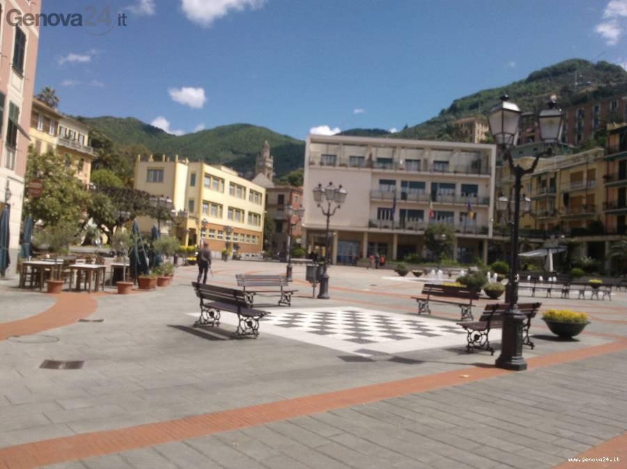 zoagli piazza