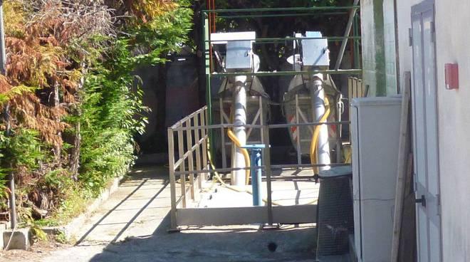 albenga, grigliatore per depurazione acque