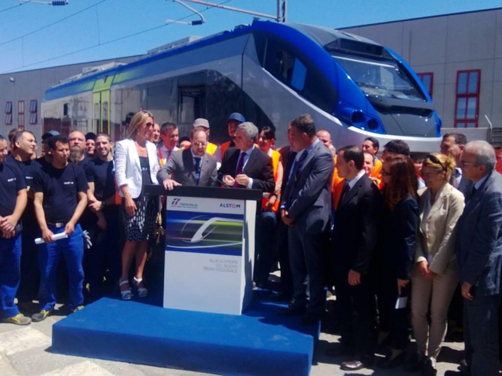 Alstom nuovo treno regionale