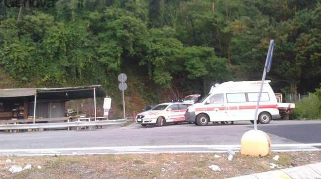 ambulanza valle scrivia