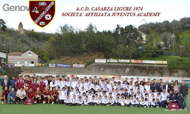 Casarza Ligure calcio Juventus