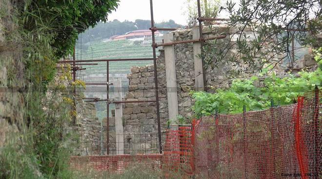 Castello di Andora - recupero