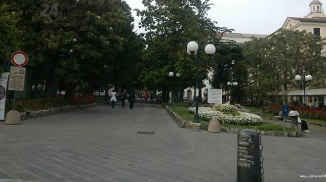 giardini stazione chiavari