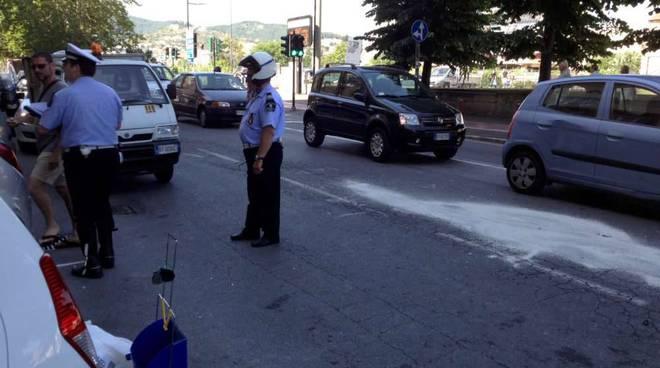 Incidente corso Viglienzoni Savona