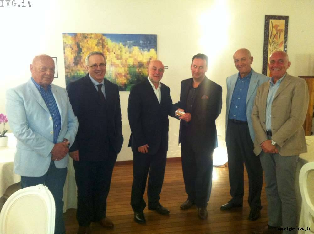 L'Ammiraglio Luigi Binelli Mantelli cittadino onorario di Finale Ligure