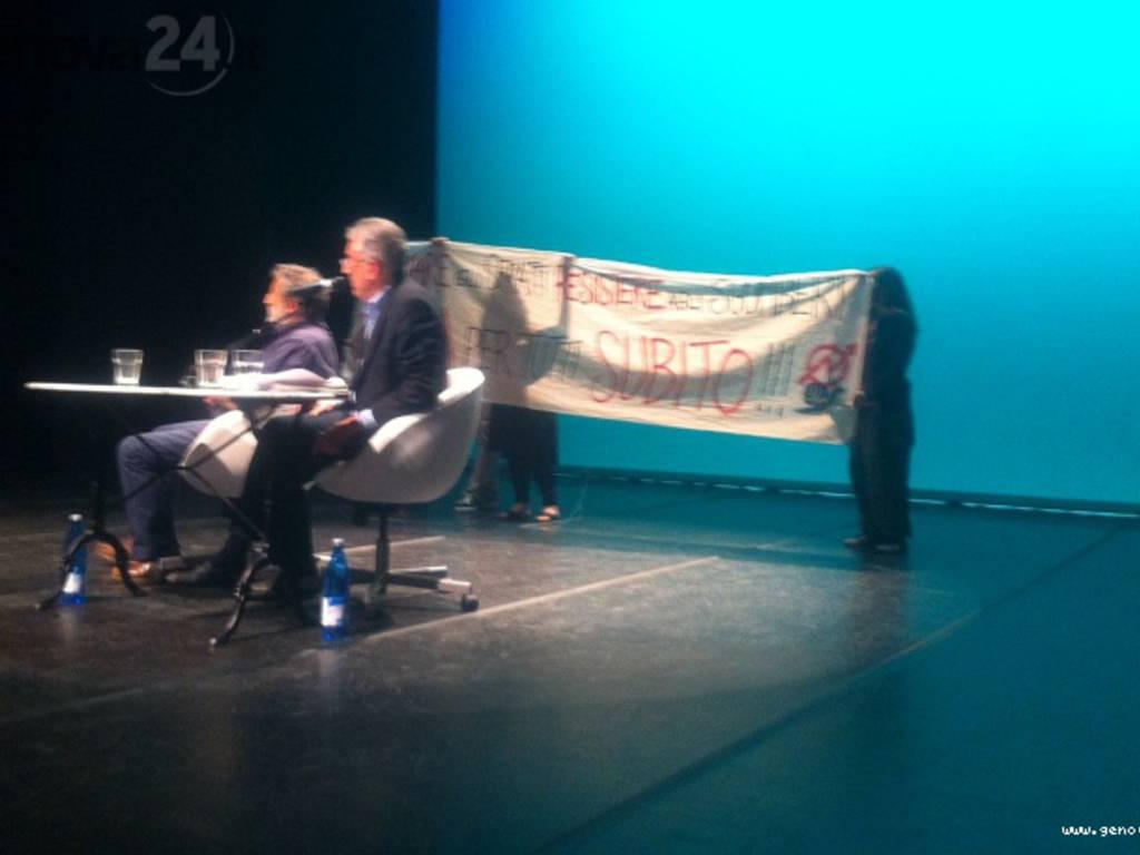 primo anno sindaco doria, contestazione centri sociali