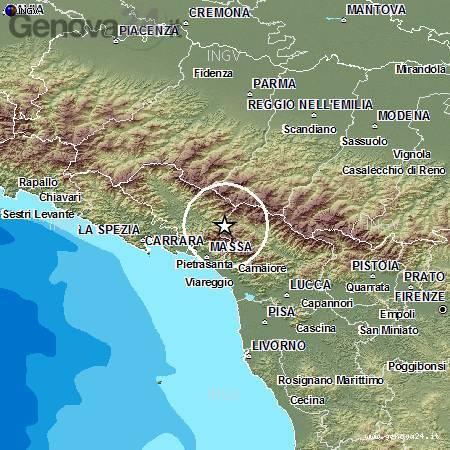 terremoto 23 giugno