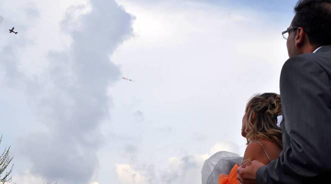 "aereo su savona ""simo ti amo"""