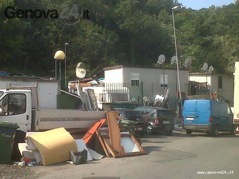 campo rom nomadi via adamoli