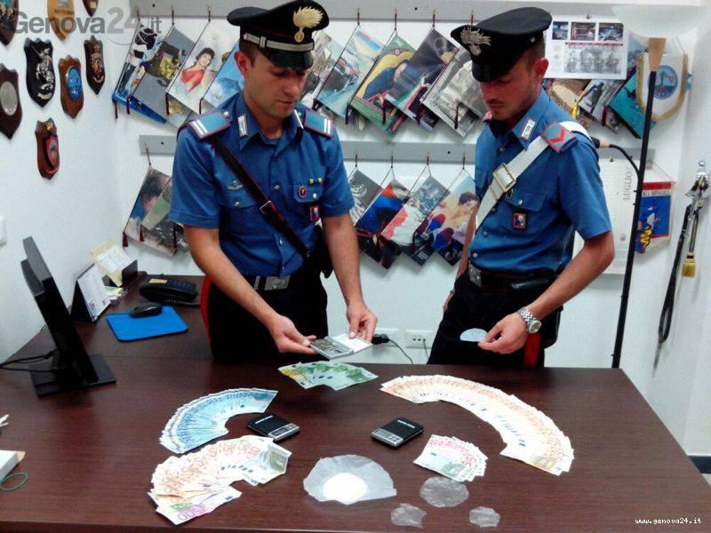 carabinieri drogra pieve ligure