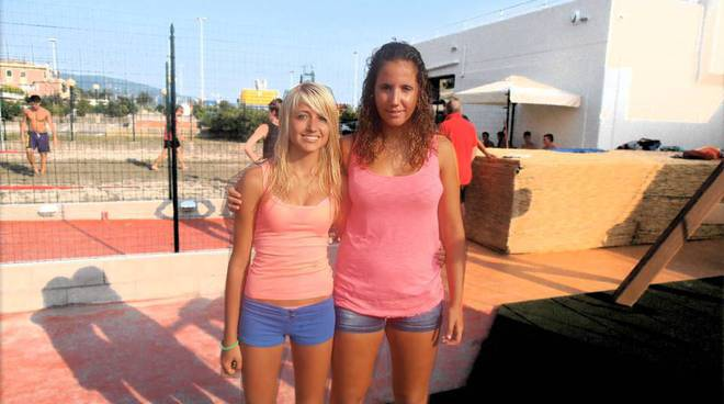 Elisa Traman e Monica Pastorino