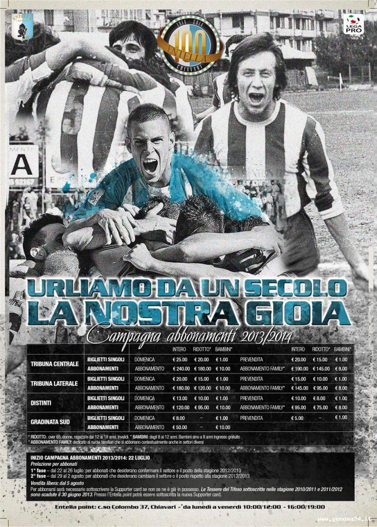 entella Campagna Abbonamenti-2013 2014