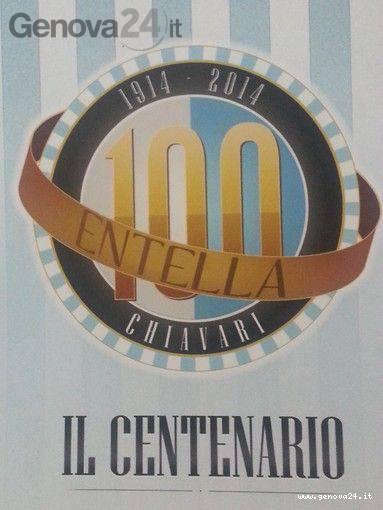Entella logo Centenario