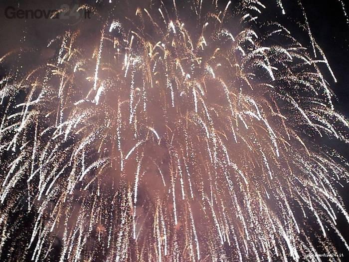 feste luglio rapallo, fuochi d'artificio