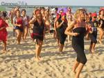 flash mob donnedamare, spiaggia violenza donne