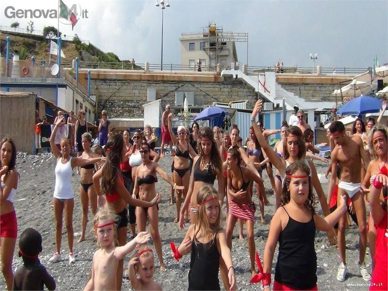 Flash mob violenza donne