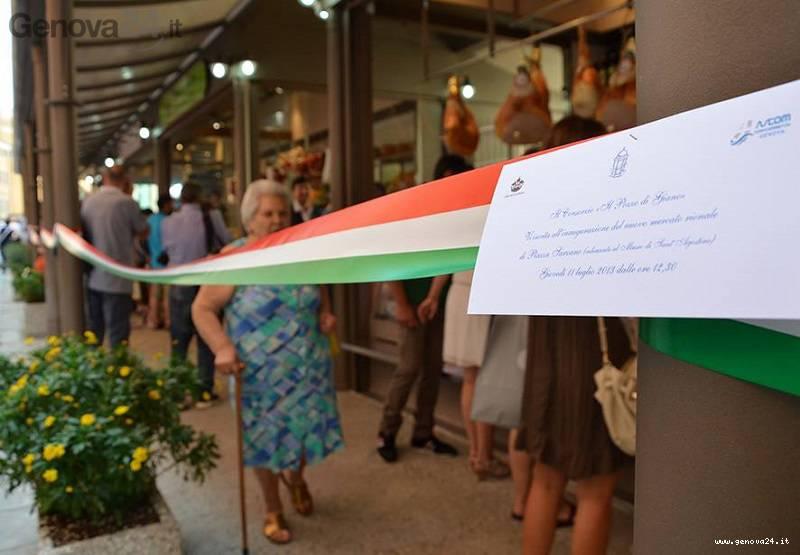 inaugurazione mercato sarzano