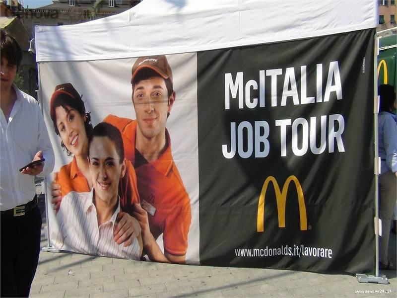 job tour Mc Donald's