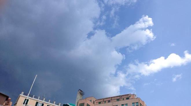 nuvole temporale