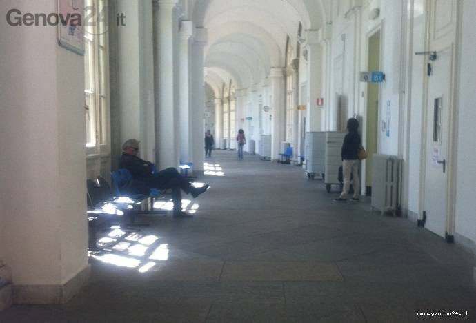 ospedale galliera corsia
