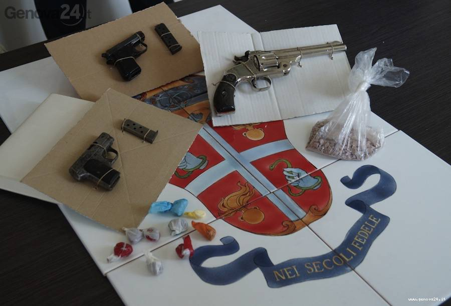 pistole abrase arsenale