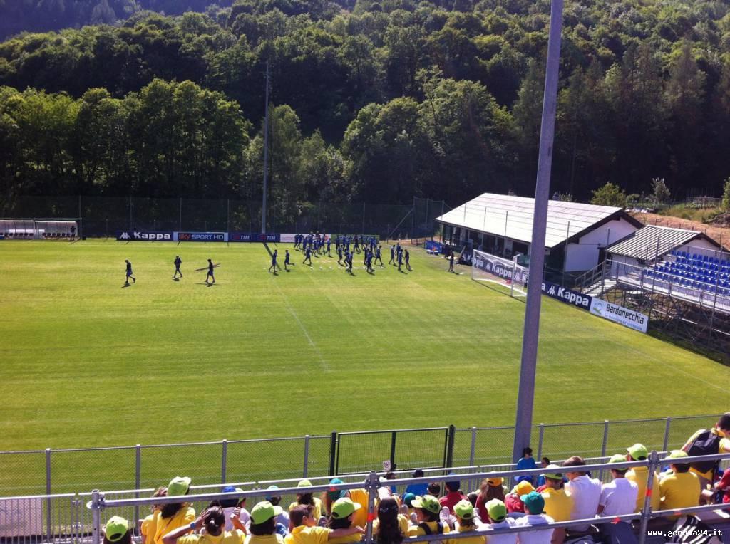 Sampdoria a Bardonecchia