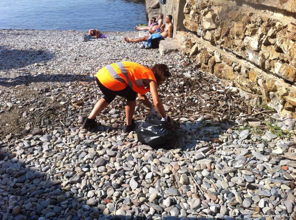 spiagge pulite rapallo
