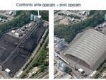 Vado Ligure - progetto copertura carbonile tirreno power