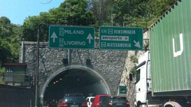 autostrada traffico