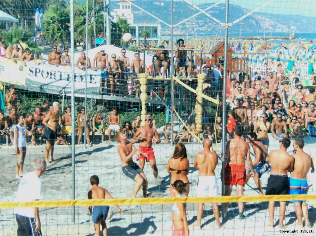 beach volley a Loano