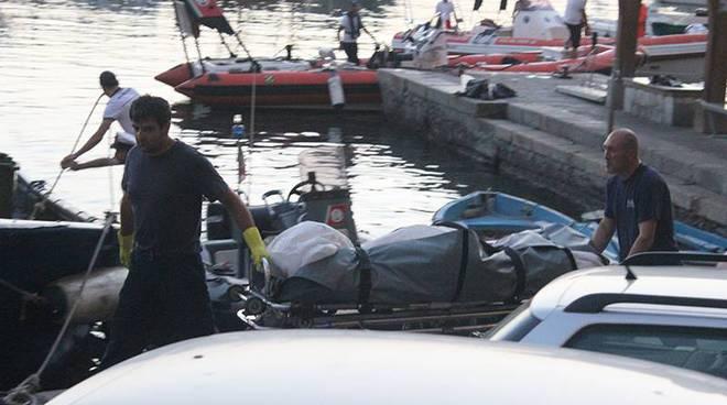 camogli donna uccisa yacht