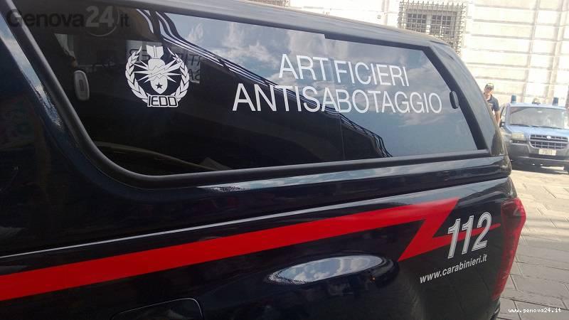 carabinieri artificieri antisabotaggio
