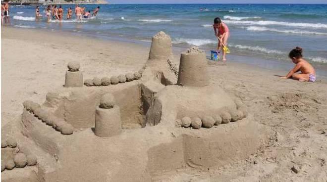 castelli di sabbia - alassio