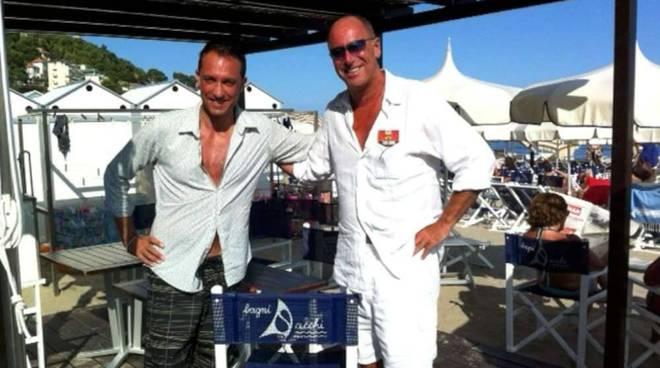 Claudio Pedrazzini e Marco Melgrati
