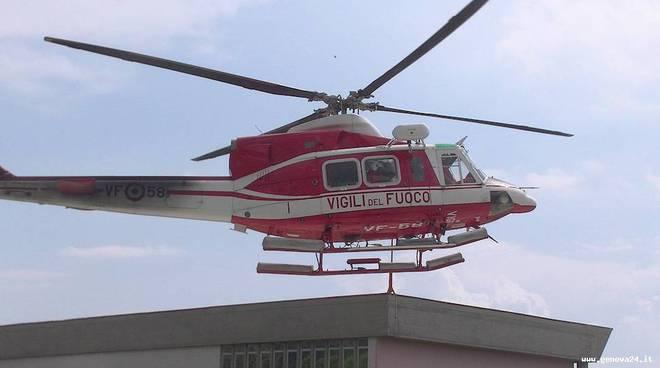 elisoccorso, elicottero vigili del fuoco