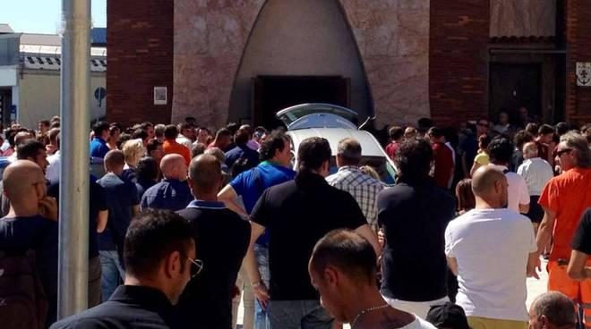 Funerale Massimiliano Monti