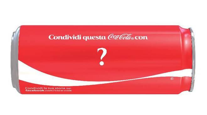 lattina personalizzata coca cola