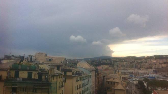 maltempo, temporale, nuvole