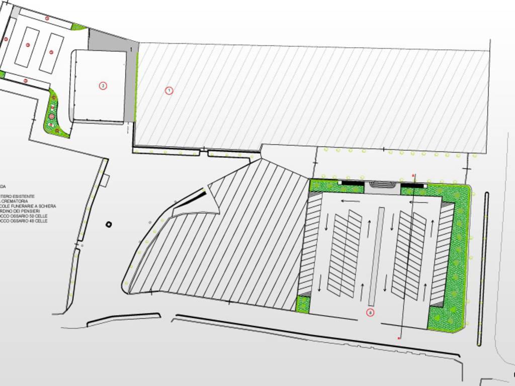 progetto area crematorio leca albenga