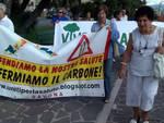 A Vado Goletta Verde e protesta anti-carbone