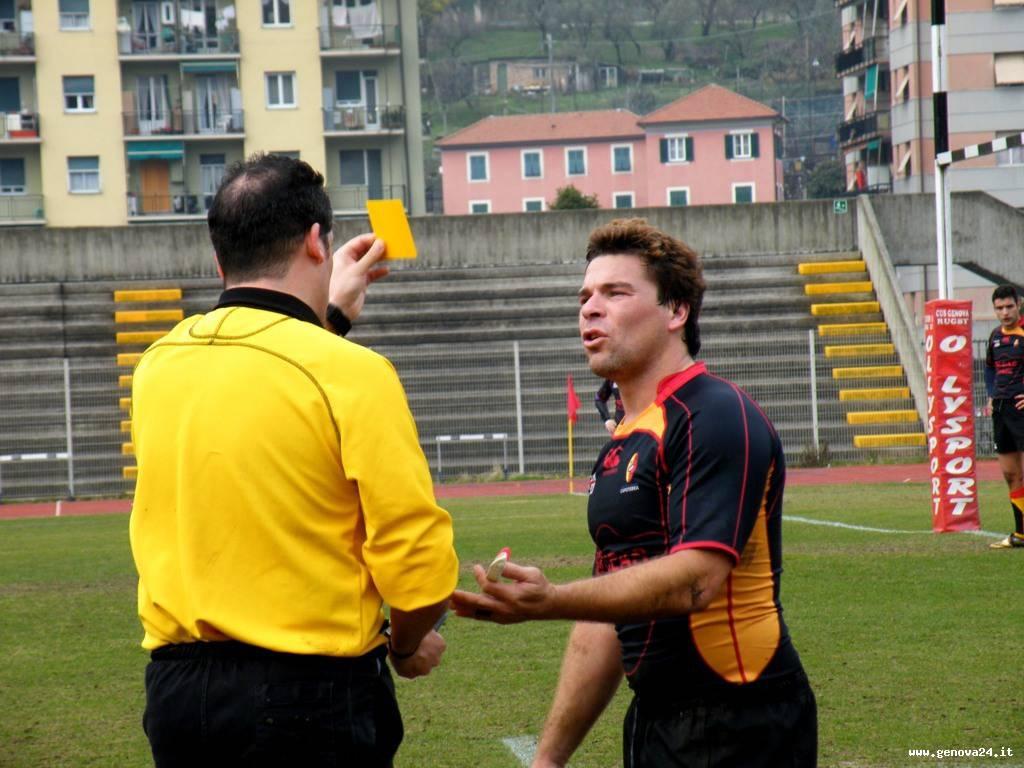 arbitro di rugby