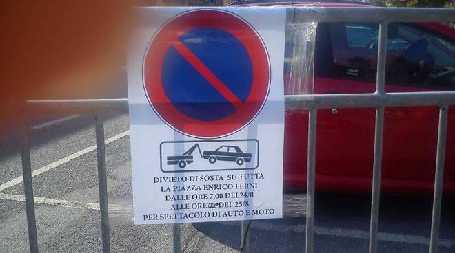 borghetto, divieto in piazza fermi